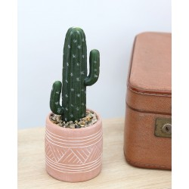 Cactus artificiel terracotta Ligne Déco