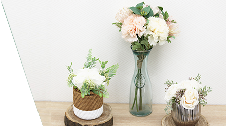 Ligne Déco fleurs, plantes artificielles