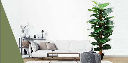 Ligne Déco plantes, arbres artificiels