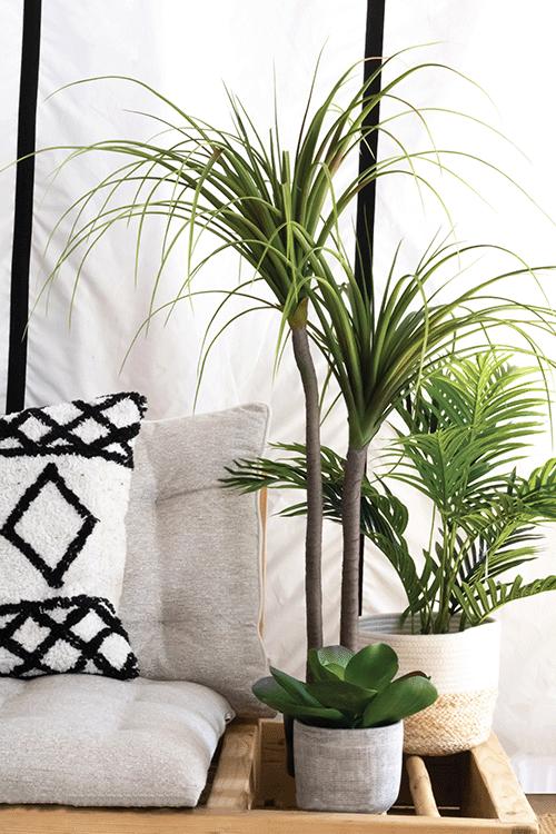 Ligne Déco plantes fleurs arbres artificiels